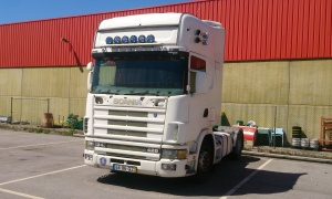 TRACTOR SCANIA R 124 LA 4x2 420 TOP LINE